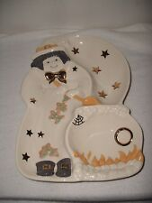 LENOX Fine China Witch Divided Server Tray/Dish RETIRED'Excellent