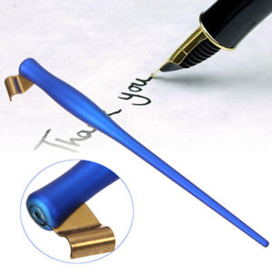 2 Function Professional Oblique Calligraphy English Dip Pen Holder