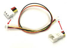 1.25mm 3-Pin Pitch JST PicoBlade Male to Female 3P connector 20cm wire lead x 10