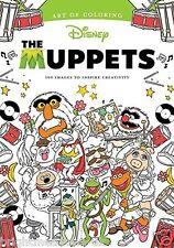 Disney The Muppets Adult Colouring Book Walt Jim Henson Kermit Miss Piggy Animal