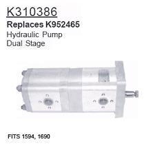 K310386 David Brown Tractor Parts Hydraulic Pump 1594, 1690