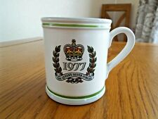 Denby 1977 Silver Jubilee Mug