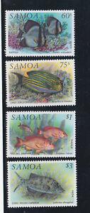 samoa 1993 Sc 819/22 fish,set MNH     r2182