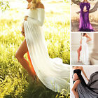 Pregnant Gown Maternity Dress Wedding Party Dresses Photography Prop Clothes