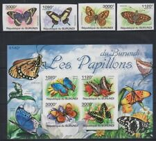 S452. Burundi - MNH - Insects - Butterflies - 2011 - Imperf