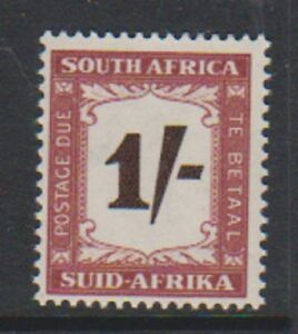 South Africa - 1958, 1s Postage Due - L/M - SG D44