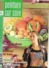 Tricot sélection - Peinture sur soie - Hors Série 130 H
