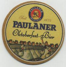 Paulaner Bier COASTER - Munchen Oktoberfest Beer 1634 - Bier Cerveza