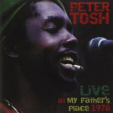 Peter Tosh ‎– Live at My Father's Place 1978 (2014)  CD  NEW/SEALED  SPEEDYPOST