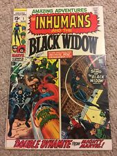 Amazing Adventures #1 (Marvel 1970) - First solo Black Widow! Vf