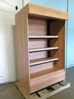HEAVY DUTY COMMERCIAL LIGHTED OPEN DRY BAKERY DISPLAY MERCHANDISING CASE/CABINET