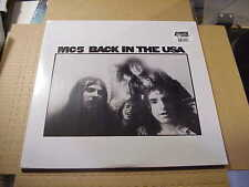 LP:  MC5 - Back In The USA NEW SEALED REISSUE 180gr