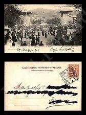 1902 Torino Esp. Int. d'Arte Decorativa Moderna - ingresso principale-viaggiata