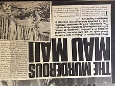 A2p ephemera 1970s article africa the mau mau uprising