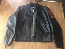 MENS LANGLITZ LEATHER CRESCENT JACKET.  - New Condition!!!