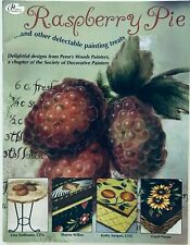 Raspberry Pie by 4 Different Artists Decorative Tole Painting Pattern Book