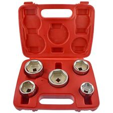 Oil Filter Socket Remover / Removal Tool / Cup Type 24mm  38mm 5pc Set AN136