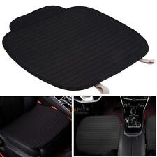Car Front Seats Cover PU Leather Cotton Single Bucket Seat Protector Mat Cusion