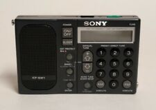 SONY ICF-SW1 PORTABLE RADIO - READ DESCRIPTION
