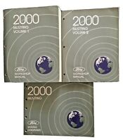 2000 Ford Mustang Workshop Manuals Volume 1 Volume 2 and Wiring Diagrams OEM