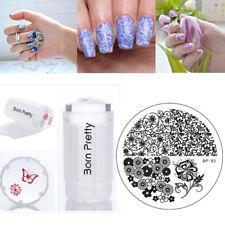 3Pcs/set Nail Art Image Stamping Templates Scraper Stamper  Born Pretty