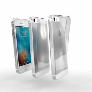 Apple iPhone SE  Case, Savvies® Xtreme Cover Bumper TPU Shockproof Soft - Clear