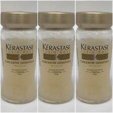 Kerastase Fusio Dose Concentre Densifique 3 VIALS OF 12ml GLASS VIALS