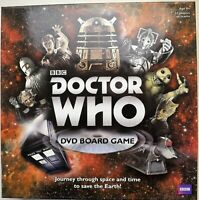 Doctor Who BBC DVD Board Game- Never Played - Unsealed Immaculate Inside