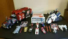 Transformers Armada Powerlinx Optimus Prime Jetfire Requiem Blaster Minicon Lot