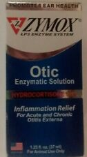Zymox LP3 Enzyme System Otic Enzymatic Solution Animal use only 1.25 oz
