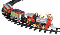 CHRISTMAS TREE TRAIN SET WITH LIGHT, SOUND DECORATION -BATTERY OPERATED