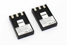 2x KAMERA AkkuS BATTERIEN 950mAh für CANON Digital Ixus V / Ixus V2 / Ixus V3