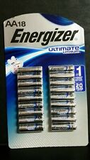Energizer Ultimate Lithium AA Batteries (18-Pack)  ~  Exp 2037