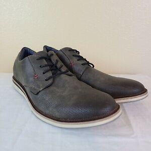London Underground Mens Casual Shoes 12 M Brisk EUC