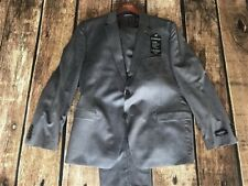 Ralph Lauren Men's Slim Fit Wool Sport Coat Gray Suit Jacket Blazer 48r