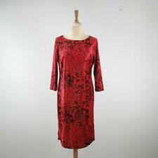 M&S Per Una Redcurrant 3/4 Sleeve Velvet Effect Dress, UK 12, Unworn w/ Tag