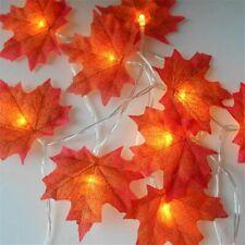 Maple Leaves LED String Light Battery Autumn Christmas Fairy Lights Decoration