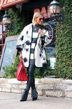 Zara Wool Coat Jacket Wool Hooded Cape Jacket Coat Poncho Kimono Size S M L