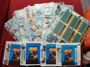 Topps 1980 Star Wars Empire Strikes Back Series 2, Full 132 Card Set + Wrappers