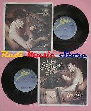 LP 45 7'' SHAKIN STEVENS It's late It's good for you baby 1983 EPIC no cd mc dvd