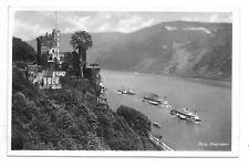 Castle BURG RHEINSTEIN on the Rhine