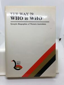 The WAY 79 Who is Who edited Margaret A Sacks (Hardcover 1980)