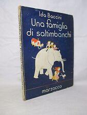 Baccini Ida - Una famiglia di saltimbanchi - 1943 llustrazioni di DARIO BETTI