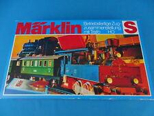 Marklin 2930 Starter Set Steamer + 2 Personenwagen