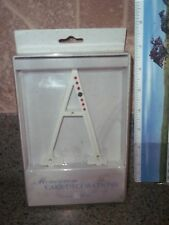 "NEW LILLIAN ROSE CAKE MONOGRAM RHINESTONE LARGE LETTER ""A """