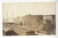 1926 Burlington Railroad Depot, Alliance, Nebraska RPPC
