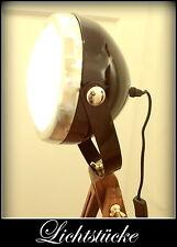 Tripod Holz Steh Lampe - Leuchte - Studio - Scheinwerfer mit LED - Bauhaus