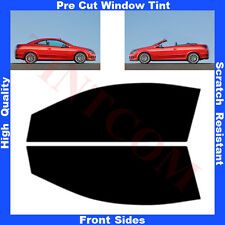 Pre Cut Window Tint Opel Astra H Twin Top 2Doors 2006-2011 Front Sides Any Shade