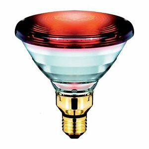 Philips Infrarotstrahler Healthcare Heat - Rot, E27 - 150W - Wärmelampe Therapie