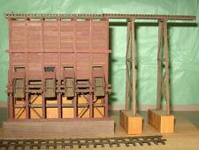 VIRGINIA CITY ORE BIN HO HOn3 Model Railroad Unpainted Structur Wood Kit CM38431